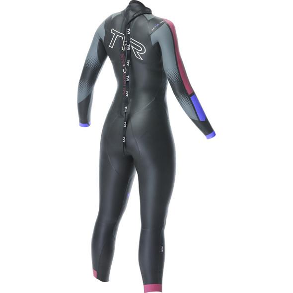 TYR Women's Hurricane Cat-3 Wetsuit - Back