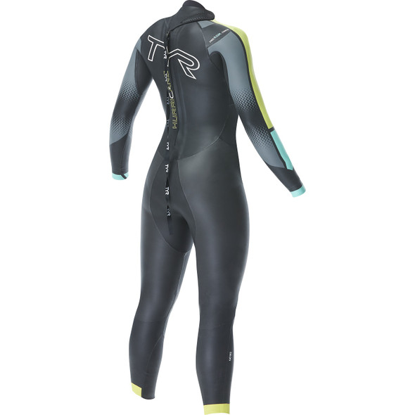 TYR Women's Hurricane Cat-2 Wetsuit - Back