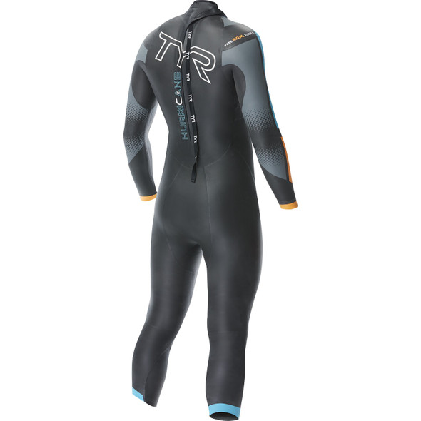 TYR Men's Hurricane Cat-2 Wetsuit - Back