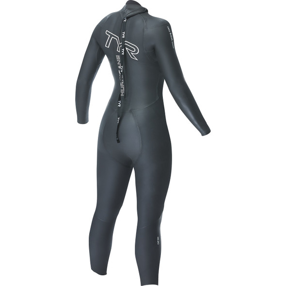 TYR Women's Hurricane Cat-1 Wetsuit - Back