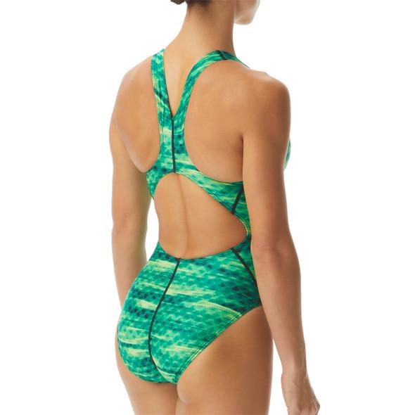 TYR Women's Castaway Maxfit Swimsuit - Back