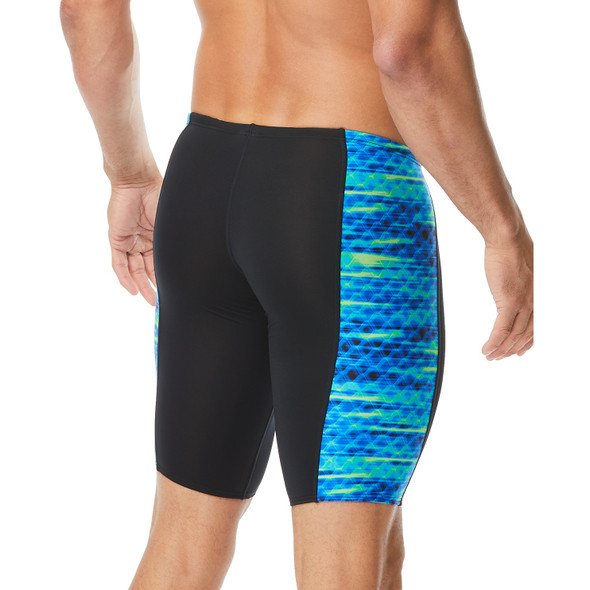 TYR Men's Castaway Hero Swim Jammer - Back