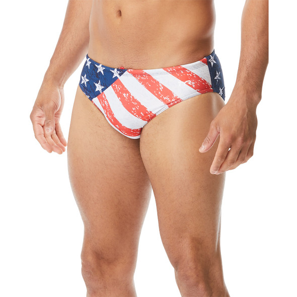 TYR Men's Star Spangled Racer