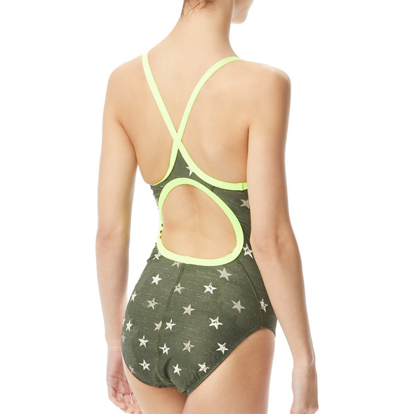 TYR Women's Stargazed Diamondfit Swimsuit - Back