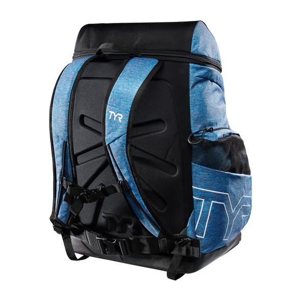 TYR Alliance 45L Heather Print Backpack - Back