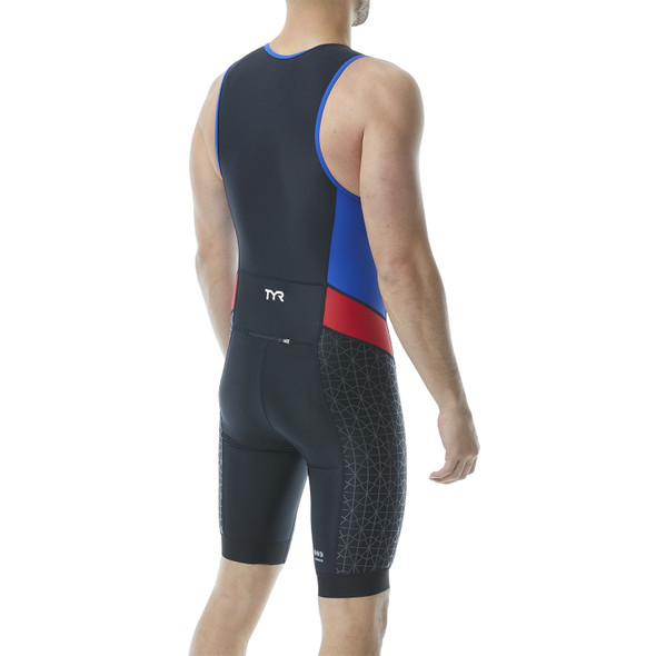 TYR Men's Competitor Tri Suit - Back