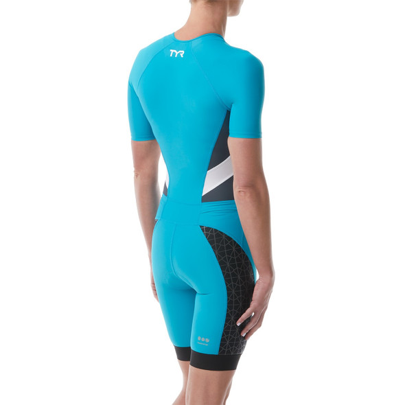 TYR Women's Competitor Short Sleeved Speedsuit - Back