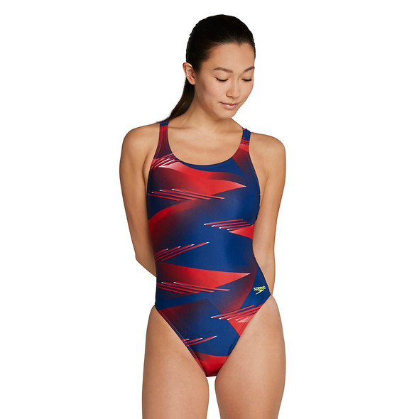Speedo Women's Lane Game Super Pro Swimsuit