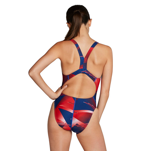Speedo Women's Lane Game Super Pro Swimsuit - Back