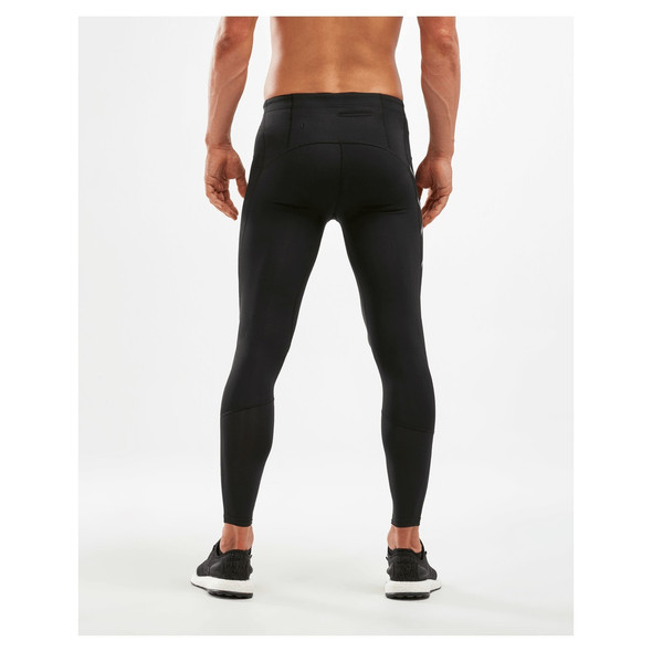 2XU Men's Run Dash Compression Tights - Back
