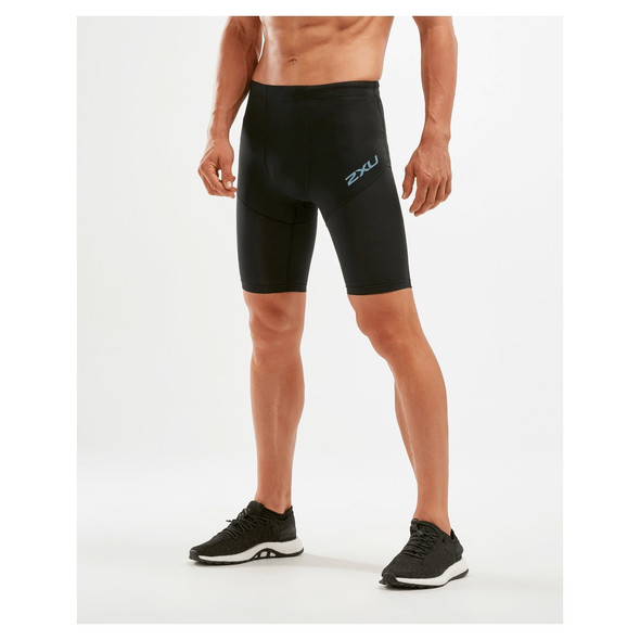 2XU Men's Run Dash Compression Shorts