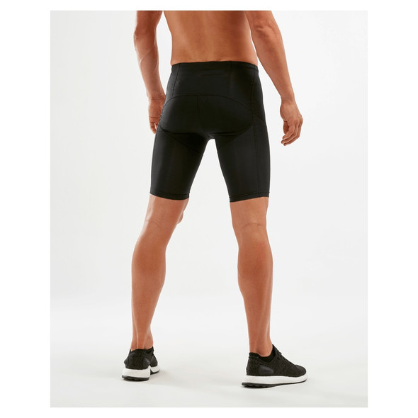 2XU Men's Run Dash Compression Shorts - Back