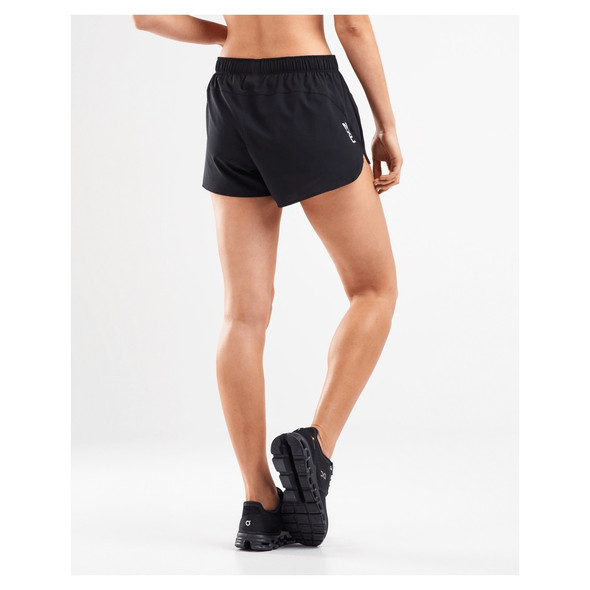 "2XU Women's Active 4"" Free Run Short - Back"