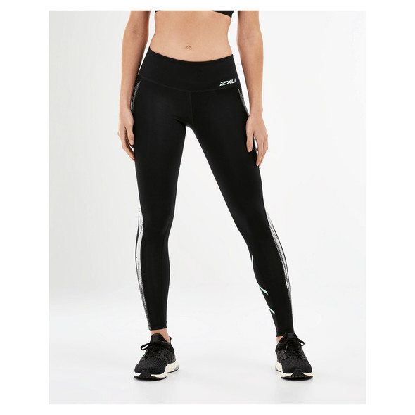 2XU Women's Mid Rise Pocket Compression Tights