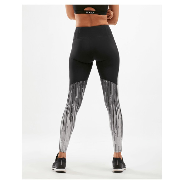2XU Women's Mid-Rise Panel Compression Tights - Back