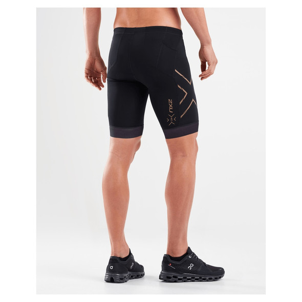 2XU Men's Compression Tri Short - Back