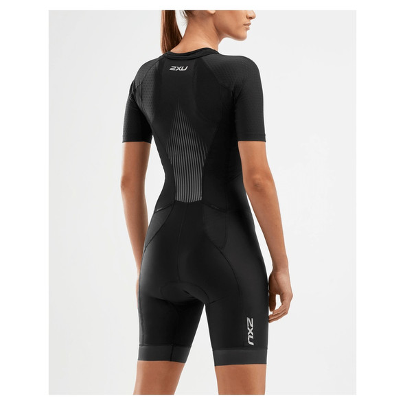 2XU Women's Perform Sleeved Tri Suit - Back