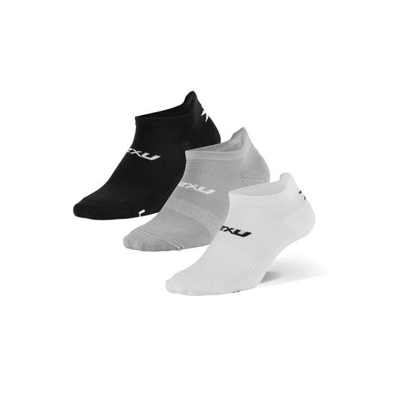 2XU Ankle Sock 3-Pack