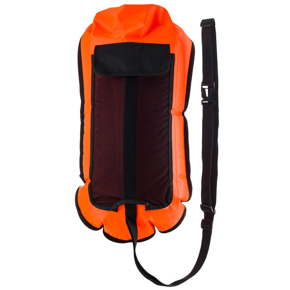 Orca Safety Buoy with Hydration Bladder Pocket - Back