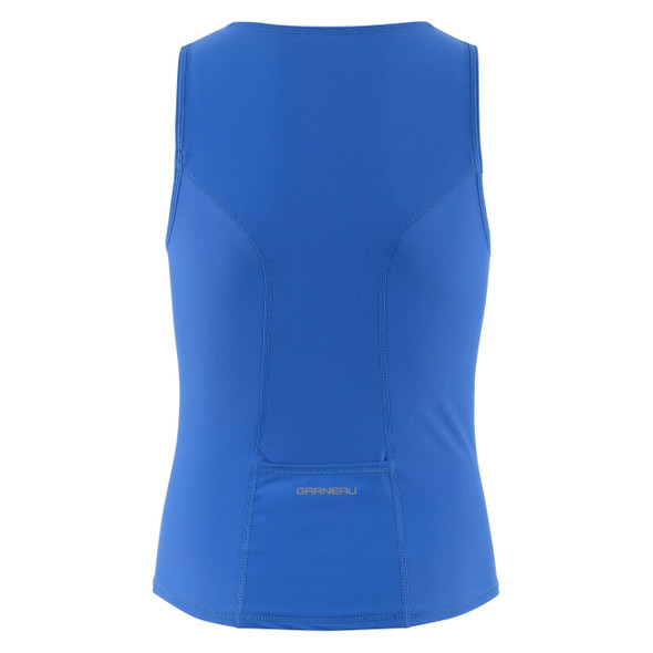 Louis Garneau Jr Comp 2 Sleeveless Triathlon Top - Back