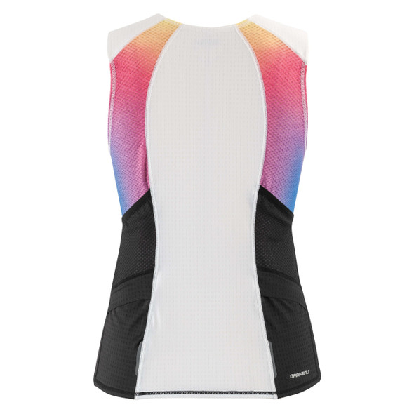 Louis Garneau Women's Relaxed Fit Vent Sleeveless Tri Top - Back