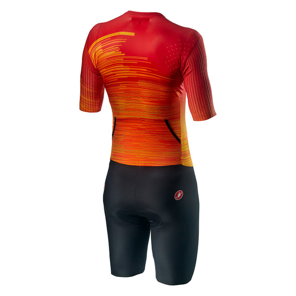 Castelli Men's PR Speed Tri Suit - Back