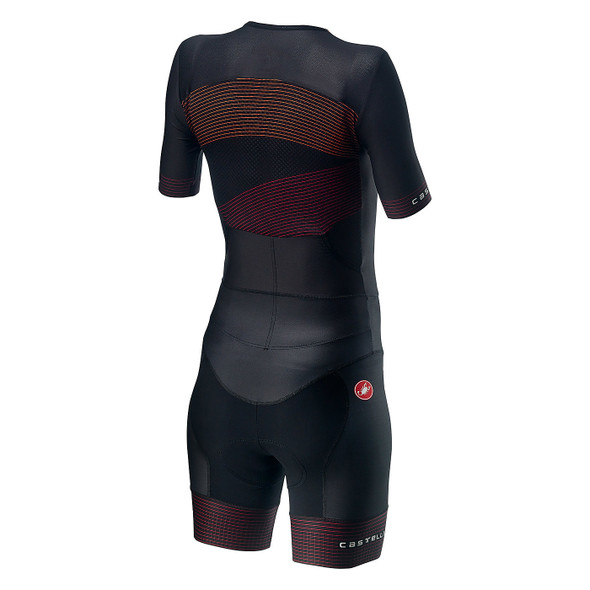 Castelli Women's Free Sanremo 2 Short Sleeve Tri Suit - Back
