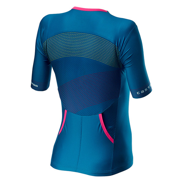 Castelli Women's Free Speed 2 Race Tri Top - Back