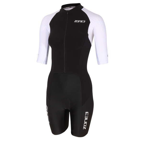 Zone3 Women's Lava Long Distance Full Zip Aero Tri Suit