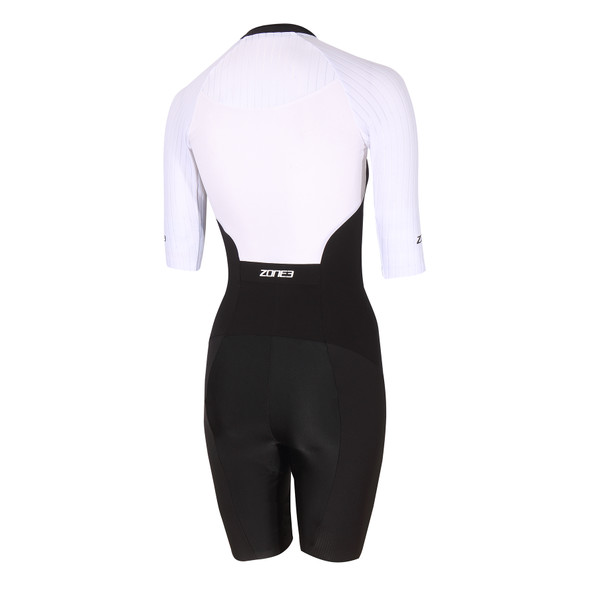 Zone3 Women's Lava Long Distance Full Zip Aero Tri Suit - Back