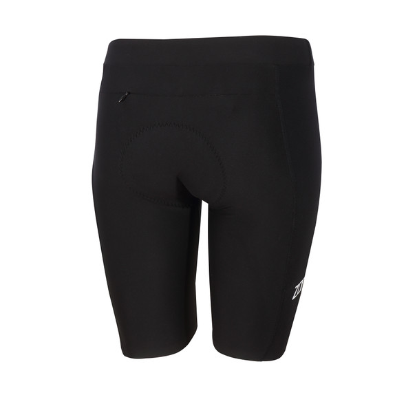 Zone3 Women's Lava Long Distance Tri Shorts - Back