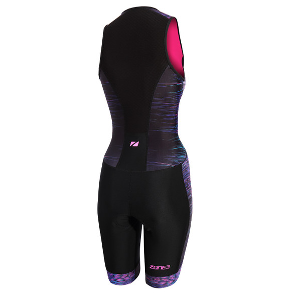Zone3 Women's Activate Plus Sublimated Tri Suit - Back