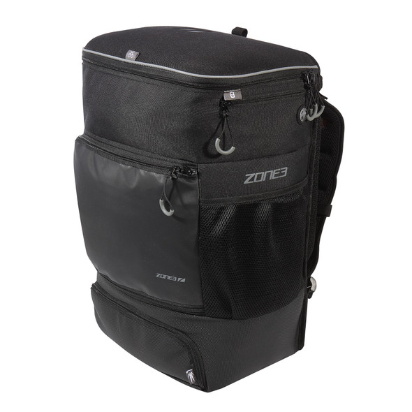 Zone3 Transition Backpack with EVA Cycle Helmet Compartment - Side