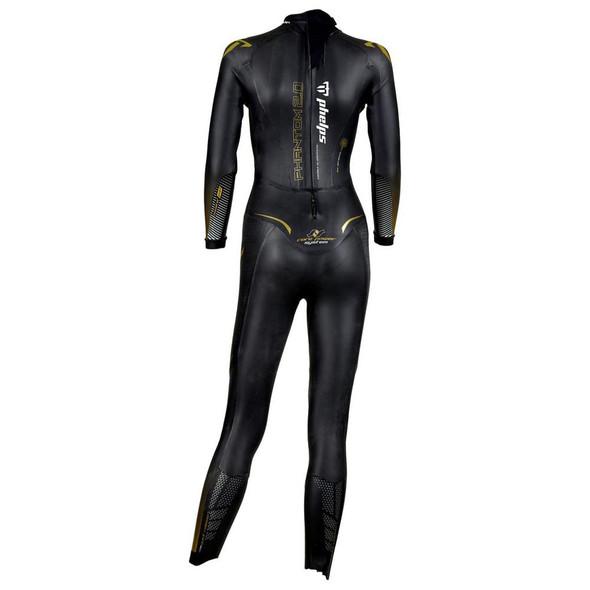 Phelps Women's Phantom 2.0 Wetsuit - Back