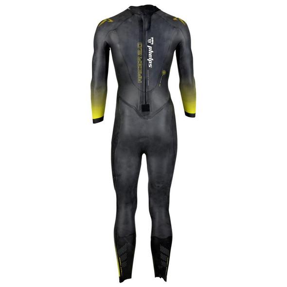 Phelps Men's Racer 2.0 Wetsuit - Back