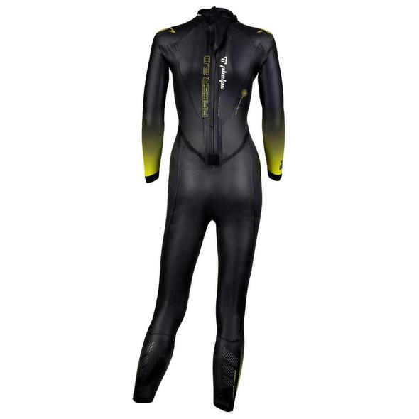 Phelps Women's Racer 2.0 Wetsuit - Back
