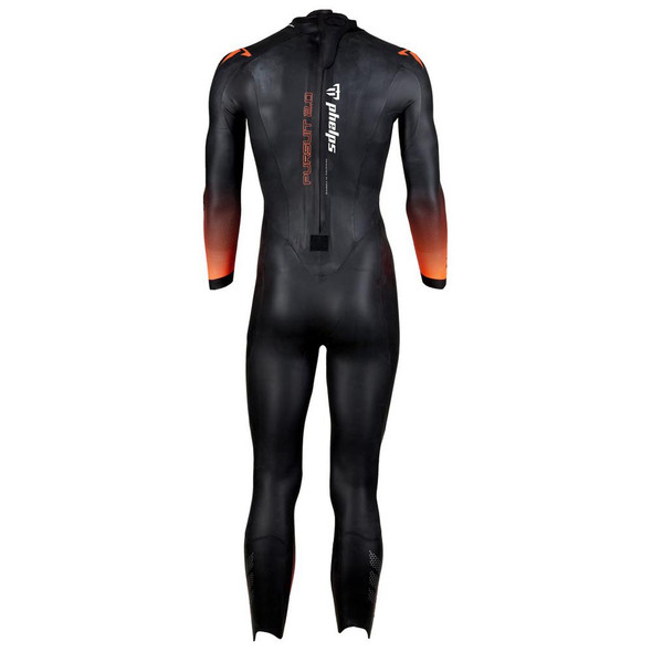 Phelps Men's Pursuit 2.0 Wetsuit - Back