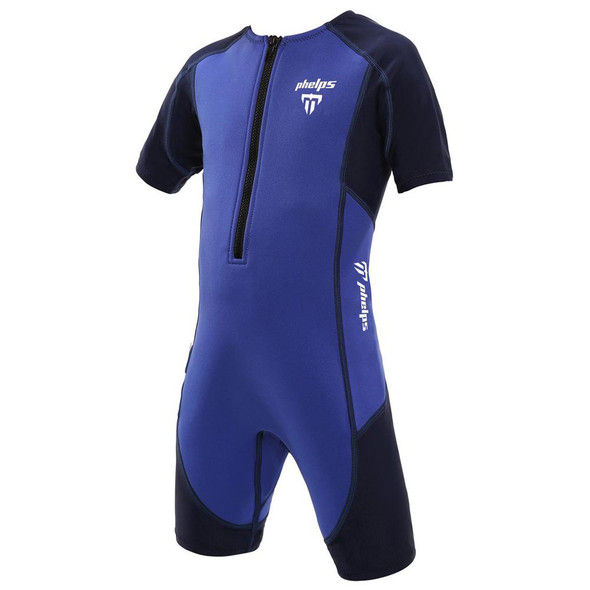 Phelps Kid's Stingray Short Sleeve Neoprene Suit