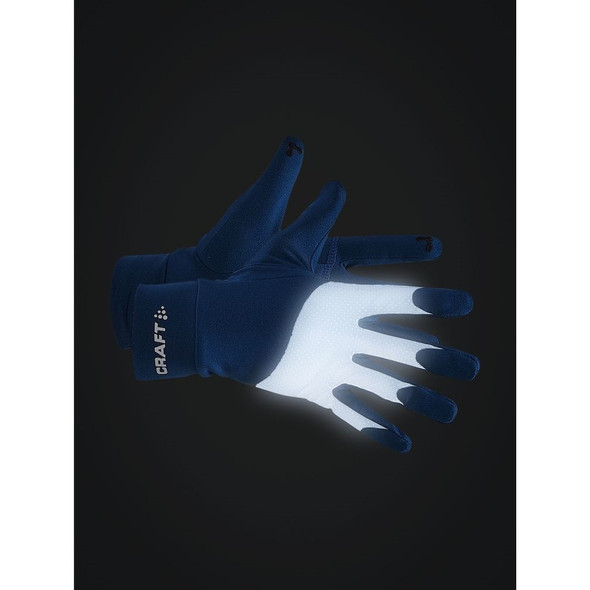 Craft ADV Lumen Fleece Glove - Reflectivity