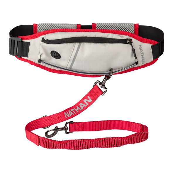 Nathan K9 Series Runner's Waistpack with Dog Leash