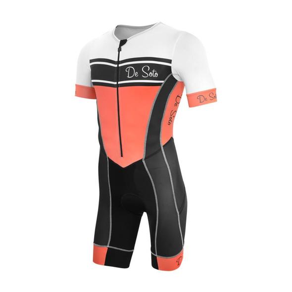 DeSoto Men's Forza Flisuit Sleeved Trisuit
