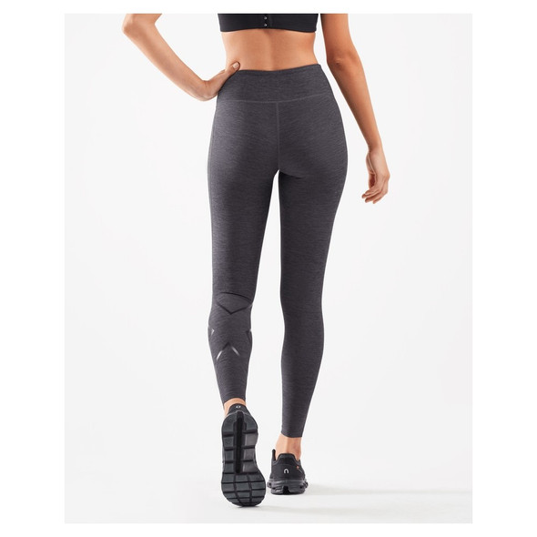 2XU Women's Print Mid-Rise Compression Tights - Back