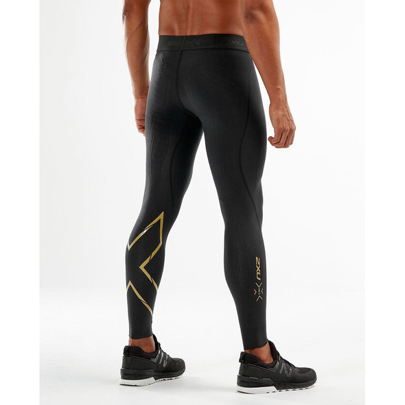2XU Men's MCS X Training Compression Tights - Back