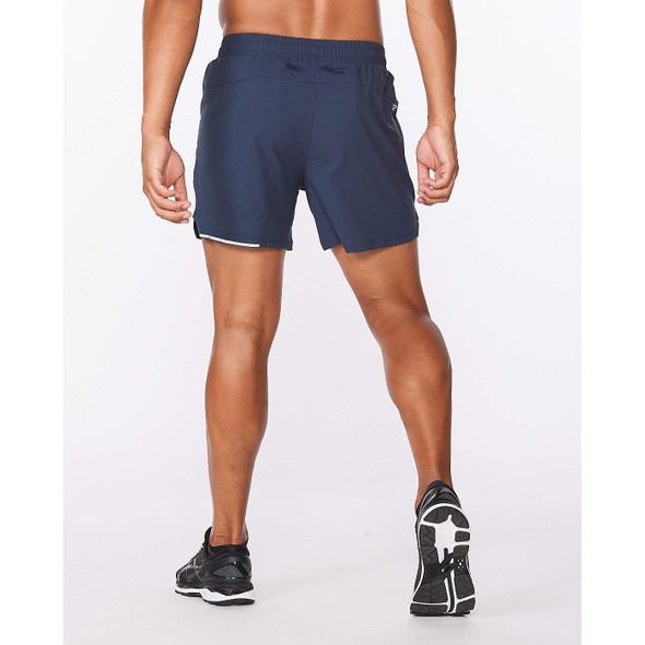 2XU Men's Aero 5 Inch Shorts - Back