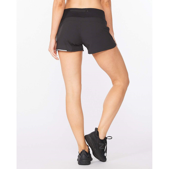 2XU Women's Aero 4 Inch Short  - Back