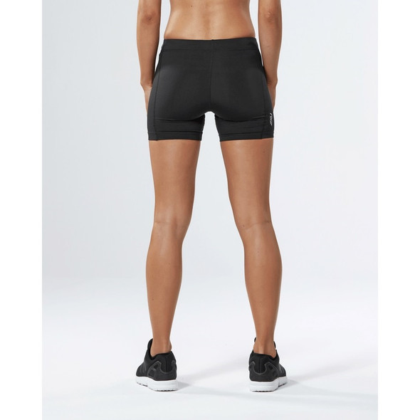 2XU Women's Fitness Compression 4 Inch Shorts - Back
