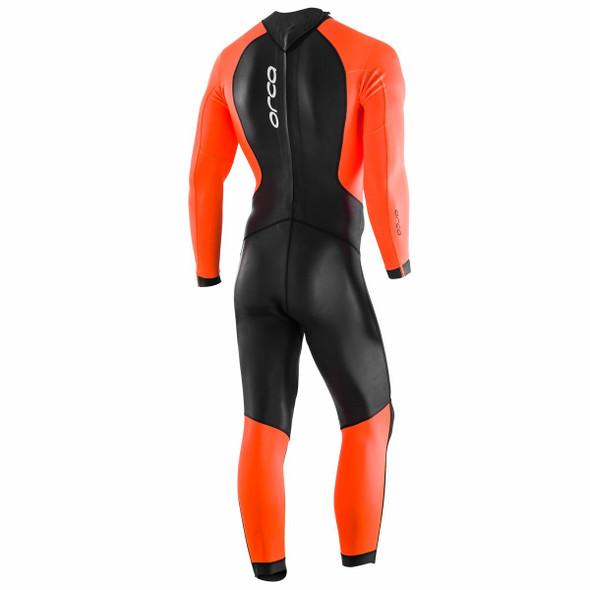 Orca Men's Openwater Core Hi-Vis Wetsuit - Back