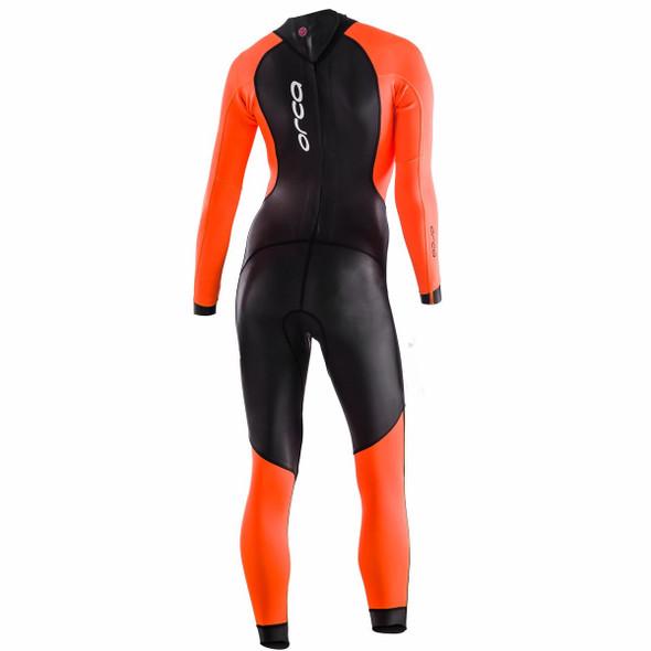 Orca Women's Openwater Core Hi-Vis Wetsuit - Back