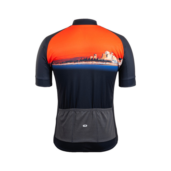 Sugoi Men's Evolution Zap Bike Jersey - Back