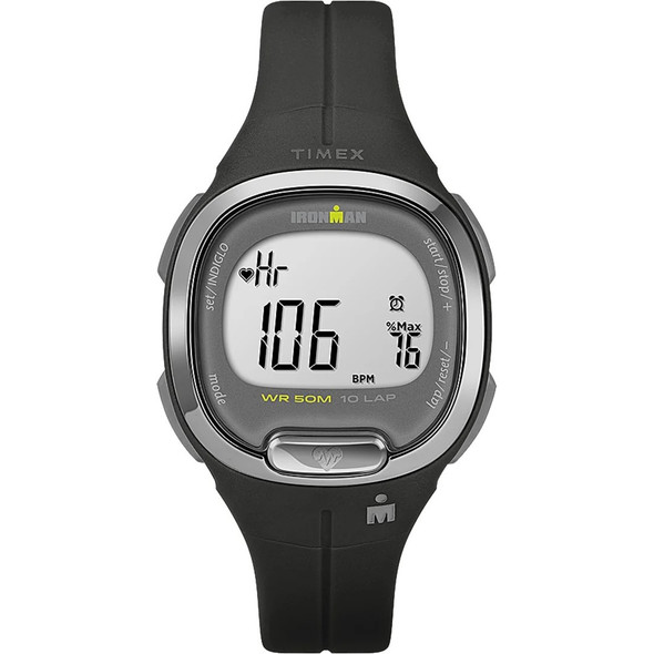 Timex IRONMAN Transit+ 33mm Resin Strap Activity and Heart Rate Watch